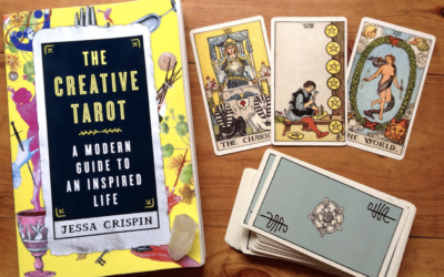 On the Bookshelf: The Creative Tarot by Jessa Crispin