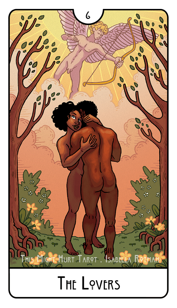 This Might Hurt Tarot The Lovers