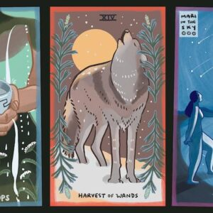 Gentle Tarot Ace of Cups Harvest of Wands The Star Australia