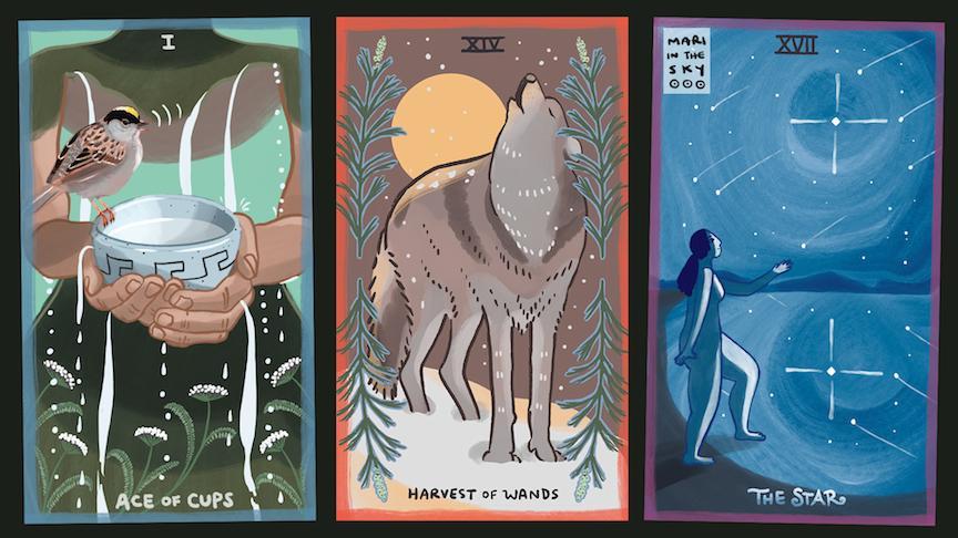 Nature-Inspired Tarot with Mariza Ryce Aparicio-Tovar, Creator of The Gentle Tarot