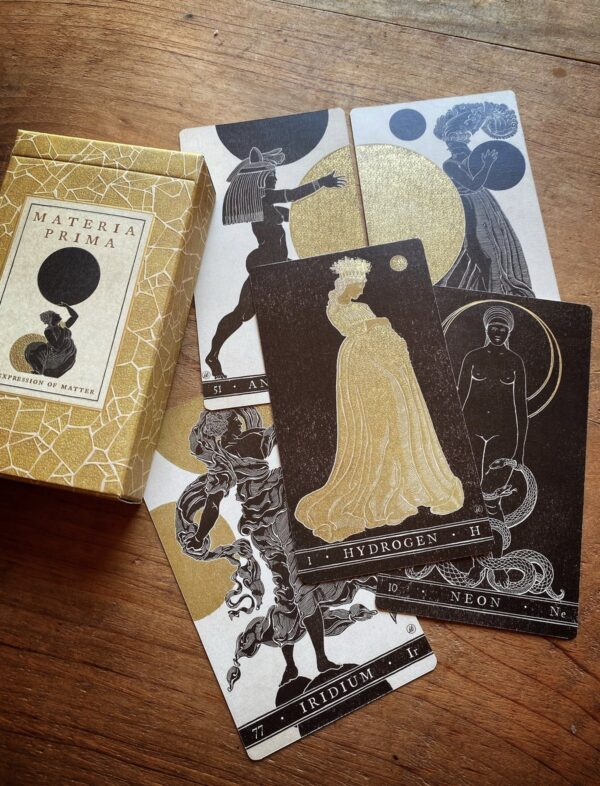 Cards from the Materia Prima: An Expression of Matter Oracle Deck