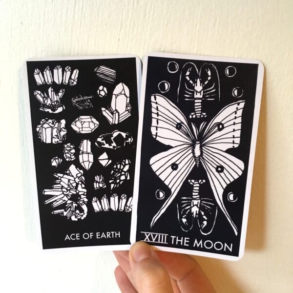 Nomad Tarot Ace of Earth The Moon