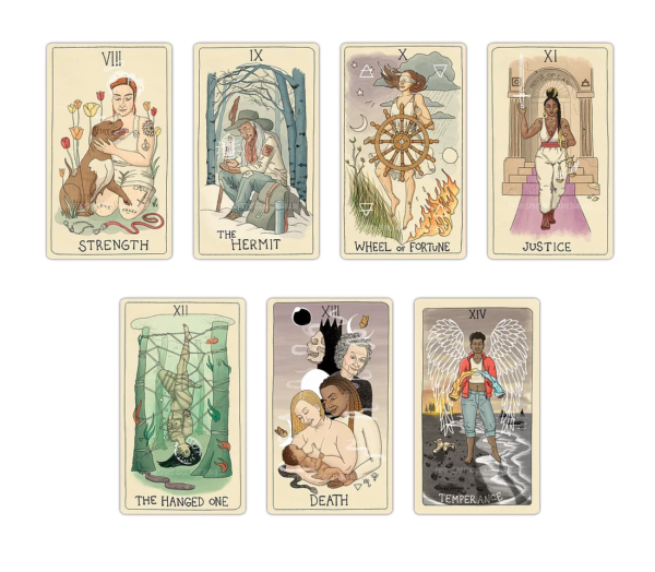 Major Arcana Cards from the Fifth Spirit Tarot